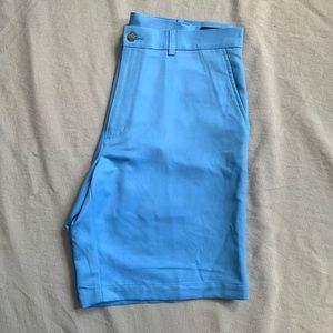 Blue PGA Golf Shorts
